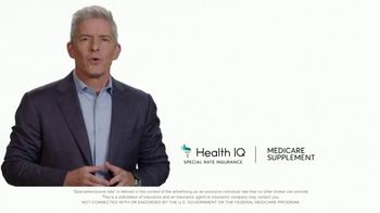 Health IQ TV Spot, 'The Only Company to Offer Special Rate Medicare Supplement Insurance' - Thumbnail 1