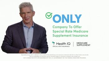 Health IQ TV Spot, 'The Only Company to Offer Special Rate Medicare Supplement Insurance' - Thumbnail 2