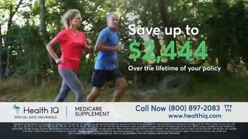 Health IQ TV Spot, 'The Only Company to Offer Special Rate Medicare Supplement Insurance' - Thumbnail 5