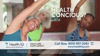 Health IQ TV Spot, 'The Only Company to Offer Special Rate Medicare Supplement Insurance' - Thumbnail 6