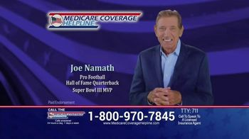 Medicare Coverage Helpline TV Spot, 'Don't Miss the Deadline: COVID' Featuring Joe Namath