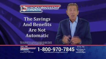 Medicare Coverage Helpline TV Spot, 'Don't Miss the Deadline: COVID' Featuring Joe Namath - Thumbnail 7
