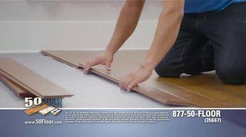 50 Floor Free Installation Sale TV Spot, 'Don't Lift a Finger' - Thumbnail 3