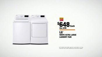 The Home Depot Fall Savings TV Spot, 'LG Laundry Pair' - Thumbnail 9