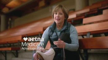 Aetna Medicare Solutions TV Spot, 'Aging Actively: $10 Gift Card' Featuring Dorothy Hamill - Thumbnail 2