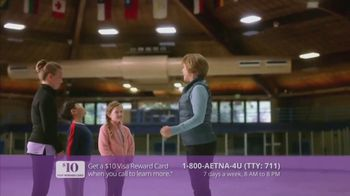 Aetna Medicare Solutions TV Spot, 'Aging Actively: $10 Gift Card' Featuring Dorothy Hamill - Thumbnail 6