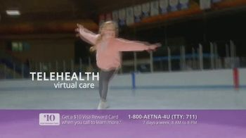 Aetna Medicare Solutions TV Spot, 'Aging Actively: $10 Gift Card' Featuring Dorothy Hamill - Thumbnail 8