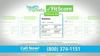 HealthMarkets Insurance Agency FitScore TV Spot, 'Medicare: The Right Fit' Ft. Bill Engvall