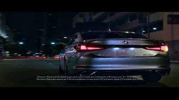 2019 Lexus ES TV Spot, 'First Date' [T1] - Thumbnail 1
