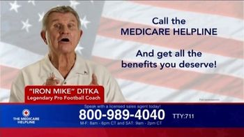 The Medicare Helpline TV Spot, 'Anyone on Medicare' Featuring Mike Ditka - Thumbnail 7