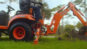 Kubota TV Spot, 'All Year Round' - Thumbnail 3