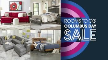 Rooms to Go Columbus Day Sale TV Spot, 'Living Rooms, Dining Rooms' Song by Junior Senior - Thumbnail 3