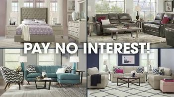 Rooms to Go Columbus Day Sale TV Spot, 'Living Rooms, Dining Rooms' Song by Junior Senior - Thumbnail 8