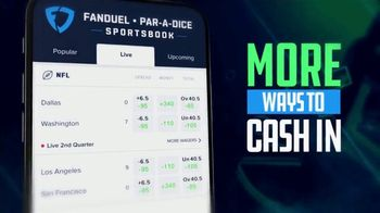 FanDuel Par-A-Dice Sportsbook TV Spot, 'More Is More: Illinois' - Thumbnail 2