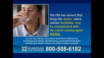 Guardian Legal Network TV Spot, 'Zantac and Ranitidine Warning' - Thumbnail 5