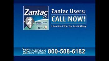Guardian Legal Network TV Spot, 'Zantac and Ranitidine Warning' - Thumbnail 7