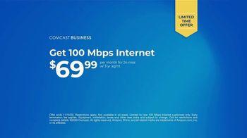 Comcast Business TV Spot, 'Bounce Forward: Prime Essentials: $69.99' - Thumbnail 8