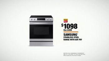 The Home Depot Fall Savings TV Spot, 'Samsung Range and Laundry Pair' - Thumbnail 9