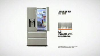 The Home Depot Fall Savings TV Spot, 'LG Refrigerator' - Thumbnail 9