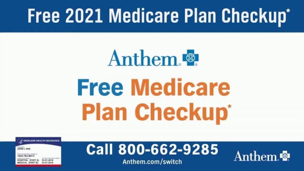 Anthem Blue Cross and Blue Shield TV Commercial, '2021 ...