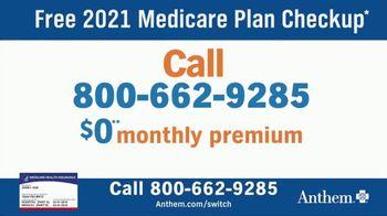 Anthem Blue Cross and Blue Shield TV Spot, '2021 Medicare Plan Checkup' - Thumbnail 3