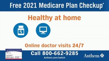 Anthem Blue Cross and Blue Shield TV Spot, '2021 Medicare Plan Checkup' - Thumbnail 4