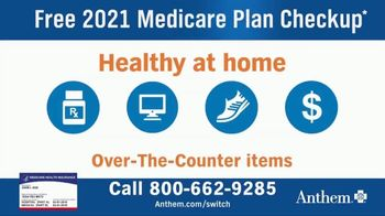 Anthem Blue Cross and Blue Shield TV Spot, \'2021 Medicare Plan Checkup\'