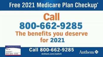 Anthem Blue Cross and Blue Shield TV Spot, '2021 Medicare Plan Checkup' - Thumbnail 6