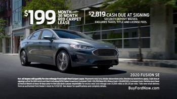 2020 Ford Fusion TV Spot, 'Get Up and Get Going' [T2] - Thumbnail 8