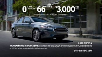 2020 Ford Fusion TV Spot, 'Get Up and Get Going' [T2] - Thumbnail 7