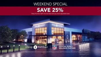 Sleep Number Fall Sale TV Spot, 'Weekend Special: Save 25%' - Thumbnail 7