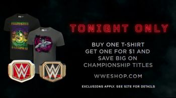 WWE Shop Official Championships TV Spot, 'Bold, Inspired and Powerful: Tee and Title Savings' - Thumbnail 8