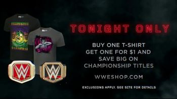 WWE Shop Official Championships TV Spot, 'Bold, Inspired and Powerful: Tee and Title Savings' - Thumbnail 7