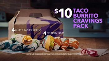 Taco Bell $10 Taco and Burrito Cravings Pack TV Spot, 'The Life Is a Journey Friend' - Thumbnail 7