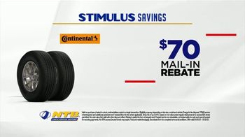 National Tire & Battery Stimulus Savings Event TV Spot, 'Mail-in Rebate: Continental Tires' - Thumbnail 5