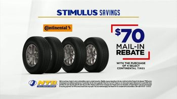 National Tire & Battery Stimulus Savings Event TV Spot, 'Mail-in Rebate: Continental Tires' - Thumbnail 6