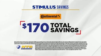National Tire & Battery Stimulus Savings Event TV Spot, 'Mail-in Rebate: Continental Tires' - Thumbnail 8