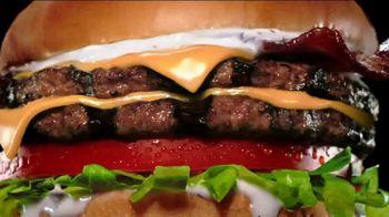 Carl's Jr. BLT Ranch Double Cheeseburger TV Spot, 'Beef Zone: Hypnotized'