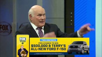 FOX Bet Super 6 TV Spot, 'Divisional Games: $500,000 and F-150' Feat. Terry Bradshaw, Howie Long - Thumbnail 5