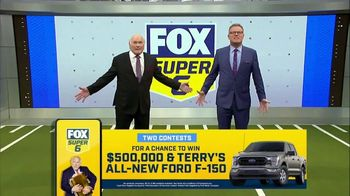 FOX Bet Super 6 TV Spot, 'Divisional Games: $500,000 and F-150' Feat. Terry Bradshaw, Howie Long - Thumbnail 7