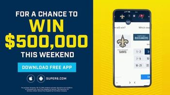 FOX Bet Super 6 TV Spot, 'Divisional Games: $500,000 and F-150' Feat. Terry Bradshaw, Howie Long - Thumbnail 9