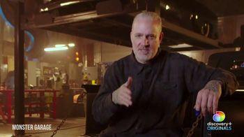 Discovery+ TV Spot, 'Monster Garage' - Thumbnail 3