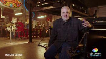 Discovery+ TV Spot, 'Monster Garage' - Thumbnail 8