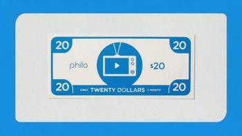 Philo TV Spot, 'Live Television: 60+ Channels' - Thumbnail 5