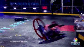 Discovery+ TV Spot, 'Battlebots: Bounty Hunters' - Thumbnail 4