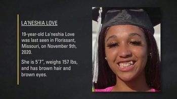 National Center for Missing & Exploited Children TV Spot, 'La'Neshia Love'