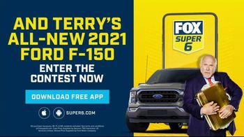 FOX Super 6 App TV Spot, 'Win $250,000 and a 2021 Ford F-150'
