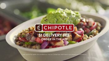 Chipotle Mexican Grill Cauliflower Rice TV Spot, 'Up Close: $1 Delivery' - Thumbnail 9
