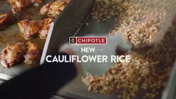 Chipotle Mexican Grill Cauliflower Rice TV Spot, 'Up Close: $1 Delivery' - Thumbnail 4