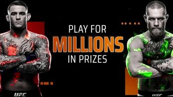 DraftKings TV Spot, 'UFC 257: Millions in Prizes'